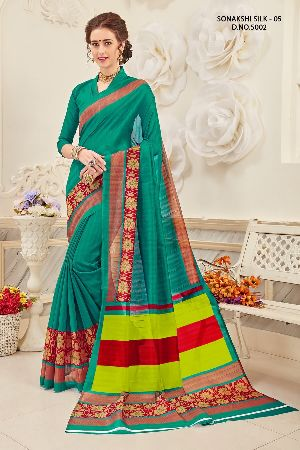 Sonakshi 5002 Bhagalpuri Cotton Saree