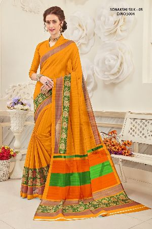 Sonakshi 5004 Bhagalpuri Cotton Saree