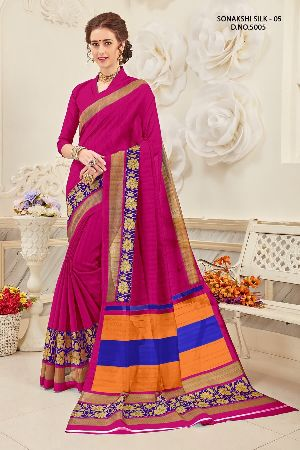 Sonakshi 5005 Bhagalpuri Cotton Saree