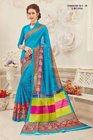 Sonakshi 5006 Bhagalpuri Cotton Saree