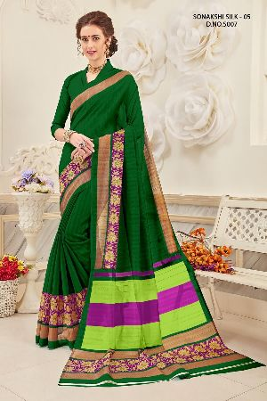 Sonakshi 5007 Bhagalpuri Cotton Saree