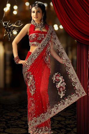Wedding Net Sarees