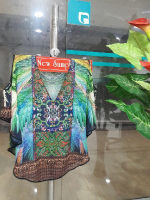 Ladies Printed Kaftan 02