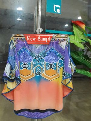 Ladies Printed Kaftan 08