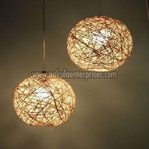 DIY Hanging Lamps