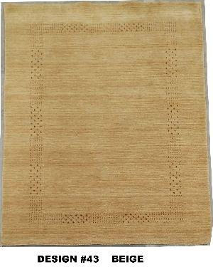 43 Beige 100% Wool Handloom Lori