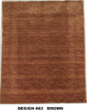 43 Brown 100% Wool Handloom Lori