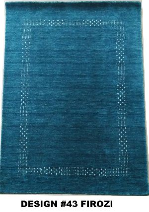 43 Firozi 100% Wool Handloom Lori