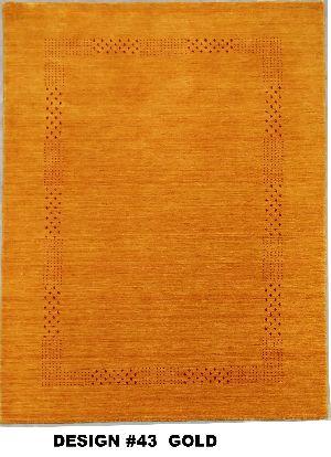43 Gold 100% Wool Handloom Lori