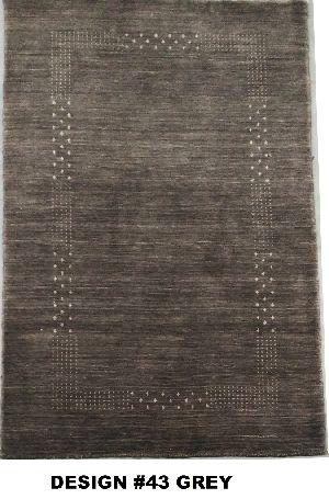 43 Grey 100% Wool Handloom Lori