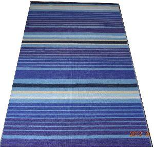 DSC02341 100% Wool Handloom Strip Durries