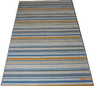 DSC02345 100% Wool Handloom Strip Durries