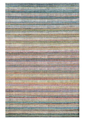 Green Gold Wool and Viscose Mix Material Handloom Carpet