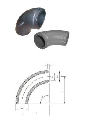 Butweld Type Moulded Elbow