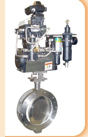 Pneumatic Actuator Operated Spherical Disc Valves