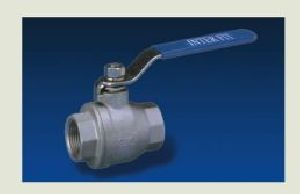 Screwed Ends Reduced Bore 1PC Ball Valves