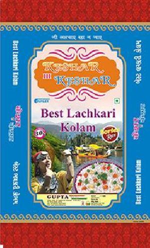 Keshar Hi Keshar Lachkari Kolam Rice