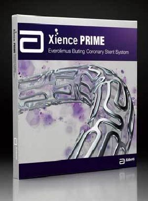 Xience Prime Everolimus Eluting Coronary Stent System