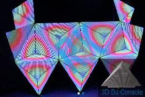 LED 3D DJ Consoles