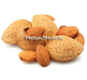 Almonds With Shell Badam