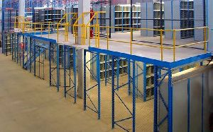 2-Tier Slotted Angle Racks job work india