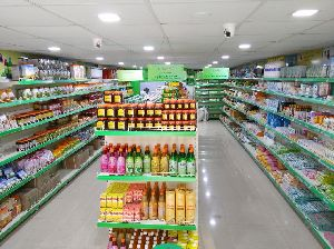 Supermarket Display Rack 09
