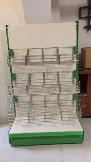 Wall Side Display Racks