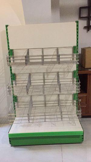 Wall Side Display Racks