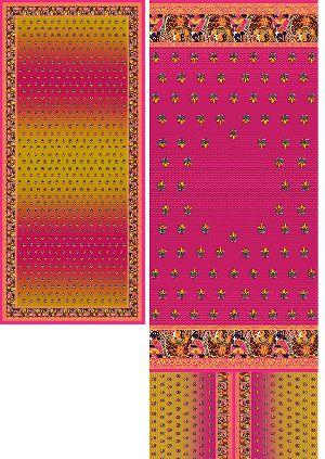 FT-K02 Printed Suit Material