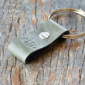 Leather Key Chain 04