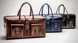 Leather Vintage Messenger Bag 01