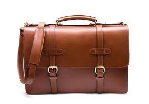 Leather Vintage Messenger Bag 02