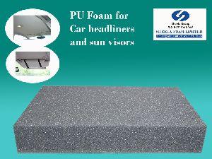 Car Headliner & Sun Visor PU Foam Sheets - Rolls