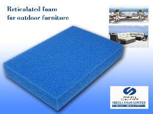 Outdoor Furniture Reticulated Foam Sheet 01