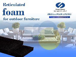 Outdoor Furniture Reticulated Foam Sheet 02