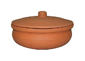 Clay Biryani Serving Pots