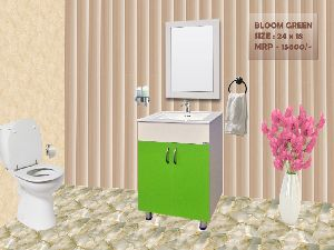 Bloom Green Bathroom Mirror Vanity