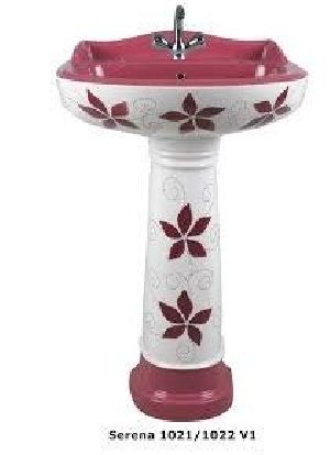 Serena 1021-1022 V1 Ark & Craft Pedestal Wash Basin