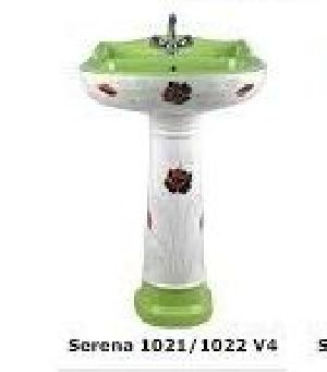 Serena 1021-1022 V4 Ark & Craft Pedestal Wash Basin