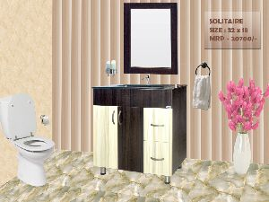 Solitaire Bathroom Mirror Vanity