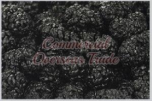 Black Dried Mulberries