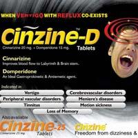 Cinzine-D Tablets
