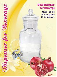 GC103 Glass Beverage Dispenser