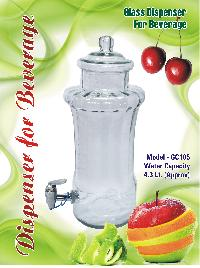 GC105 Glass Beverage Dispenser