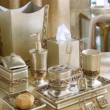 brass bathroom sets