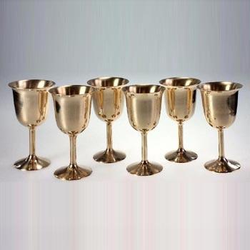 Brass Goblet 01