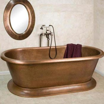 Copper Bath Tub 01
