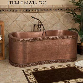Copper Bath Tub 03
