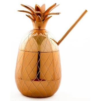 Copper Pineapple Mug 01