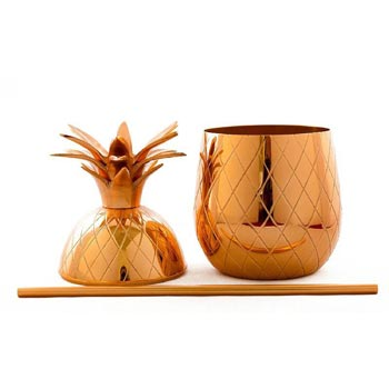 Copper Pineapple Mug 02